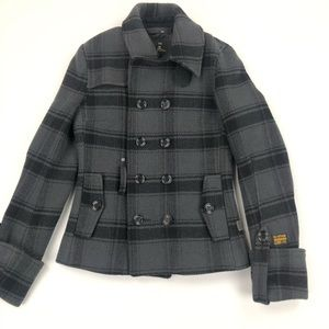 G-star Raw Valley Peacoat Dbl Breasted 70% wool